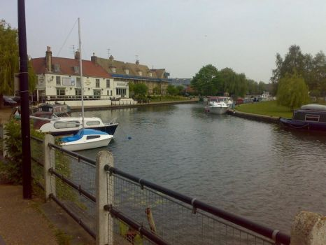 Cycling to Ely 3 by Carnivius