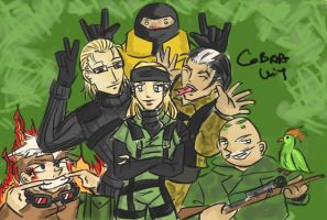 MGS 3:COBRA UNIT by cutekakashi