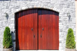 Red Doors - Stock by Thorvold-Stock