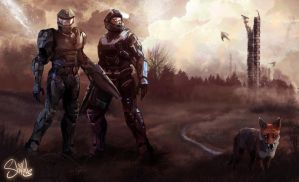 HALO REACH by shilohs