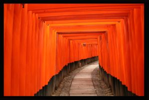 Fushimi Inari Shrine by chuscli