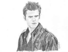 Stefan Salvatore by neongranola