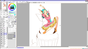 Fairy Wip colouring 2 by DefineYvonne
