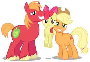 The Apple Family Siblings by Brony-Works