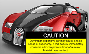 If Expensive Cars Listed Side Effects by Games4me