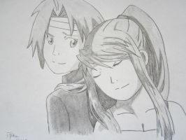 Ed And Winry by Charol99