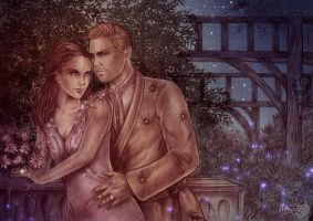 DA:I  Cullen and Rayne Amell by Agregor