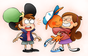 Wander and Gravity falls by robotoco