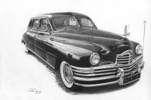 1948 Packard Custom Limo by narvis