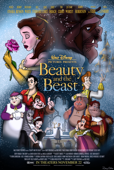 Beauty and the Beast by ZoraCatone