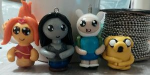 Adventure Time Charms / Ornaments by ShadyDarkGirl
