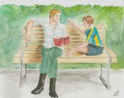 APH Park bench by Terrormopf