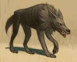Dire Wolf by atomicman