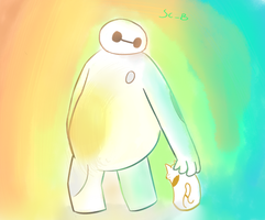 Baymax - Big Hero 6 by SlimeCloudBeta