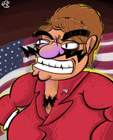 Palin's True Face by msprout