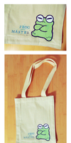 Frog Master tote by tessary
