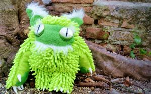 Kyuri Plush Monster by GhoulSoul