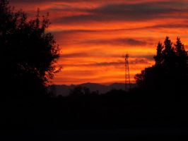 Sky Made of Fire by leopard0825