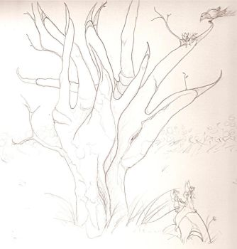 HAND TREES by Canopy-Walker