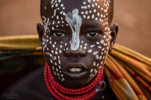 Karo Youngster - Ethiopia, Omo Valley by acseven