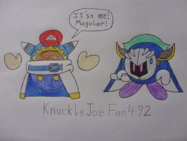 Here's Magolor by KnuckleJoeFan492