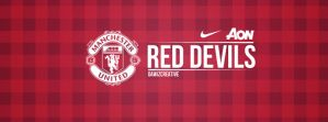 Manchester United Facebook Cover by daWIIZ
