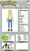 Trainer Profile: Hazel Rogers (KingCreeper919)