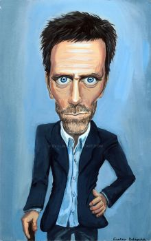 House Caricature! by Evylina