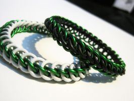 Forest Green Chainmaille by Melon-love