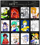 2015 Summary of Art by Arashi-Penguin