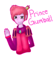 .: Prince Gumball :. by ShieldWinchester