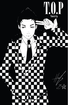 T.O.P Turn it up by Angrypanda-Gin