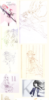 sept to dec sketch dump by silkhat