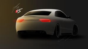 Audi S5 by norgesherligste