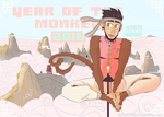 Year of the Monkey 2016 by LaCandida