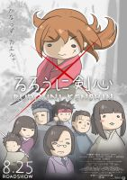Rurouni Kenshin the Movie by crellia