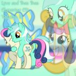 Lyra and Bon Bon Character CD 8 by YuiRainbowStar