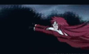 Grell gets trampled by Pluto by kanamelover101