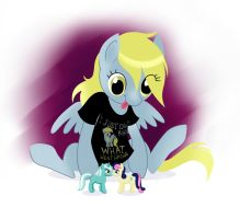 Derpy Playing by Manden