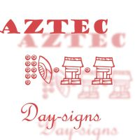 Aztec Tonalpohualli Day Signs by waterweed-stock