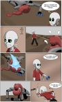 Undertale Green Page 7 by FlamingReaperComic