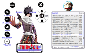 Rogue Dragon force Skin Winamp by dedendenyy