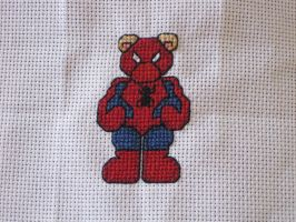Cross Stitch Spiderman by LeeAlexis