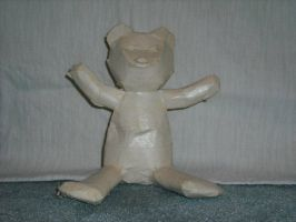 The Tape Teddy by tape-artist