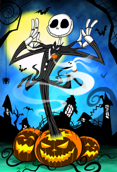 Jack Skellington by kudoze