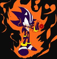 Dark Spine Sonic the Hedgehog by THEATOMBOMB035