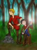 Arthur and his Servant by Katy133