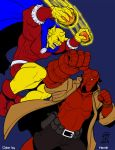 Etrigan vs. Hellboy by CallMePo by Lantheir
