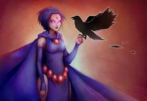 |Raven| by TheDrawingBeeb
