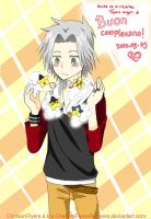 Buon Compleanno Gokudera by ChasersFlyersRunners